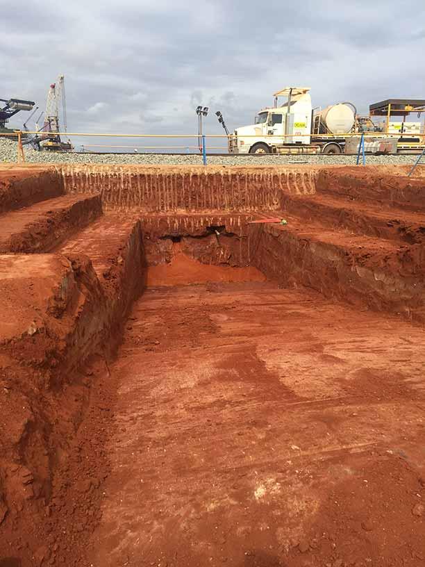 Groundforce Civil Receiver Pit cut out