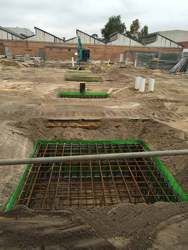 Groundforce Civil pad footing installations
