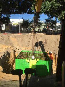 Groundforce Civil pad footing installation